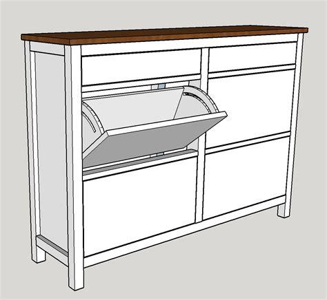 Shoe Cabinet Plans