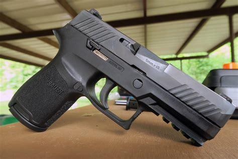 Sig-P320 Shooting The Sig Sauer P320 Compact.