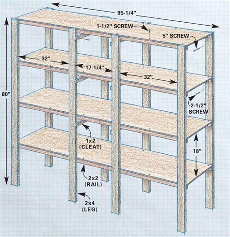 Shop Shelf Plans Free