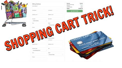 Credit Card Approval Process Shopping Cart Trick To Instant Credit Approval