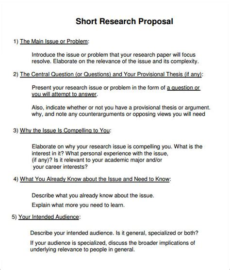 high-quality research proposal