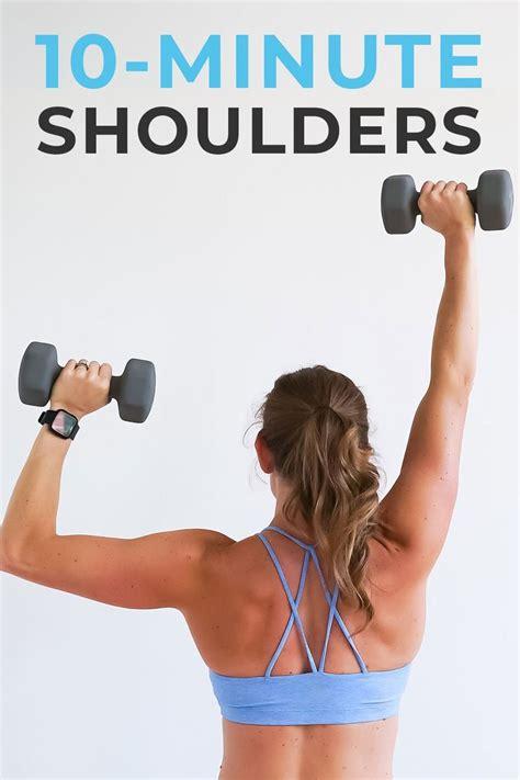 shoulder exercises for women youtube