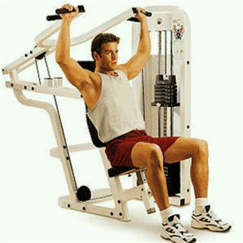 shoulder machine exercises