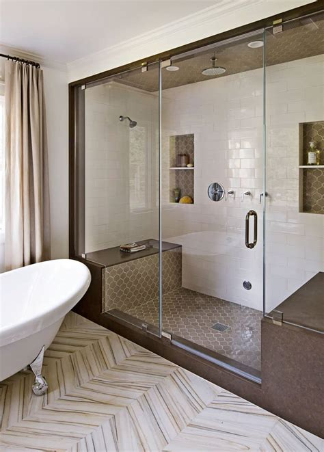 Shower Designs With Bench