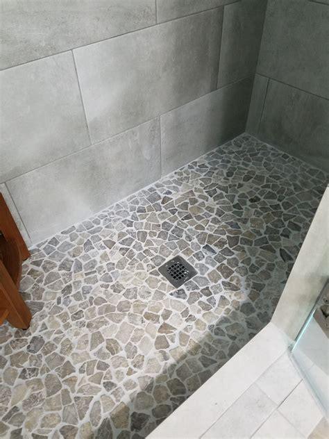 Shower Floor Stone Pebble