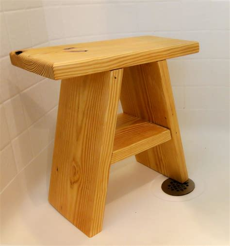 Shower Stool Woodworking Plans