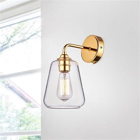 Sia Iron 1-Light Armed Sconce