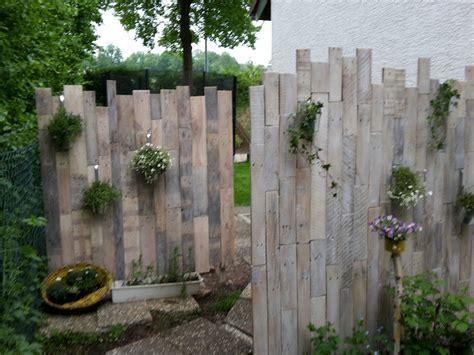 Sichtschutz Garten Dekorieren