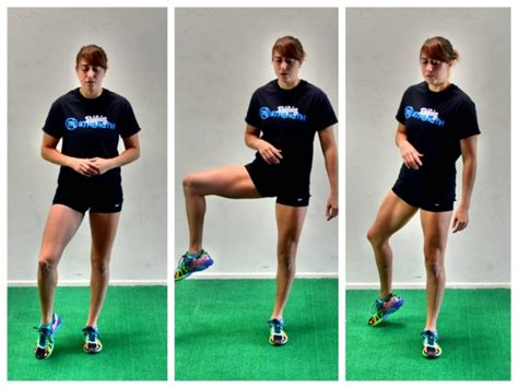 side hip flexors exercises for hurdles without hurdles track