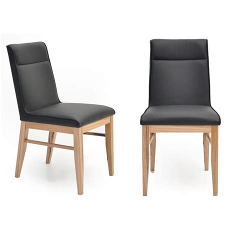 Sienna Genuine Leather Upholstered Dining Chair