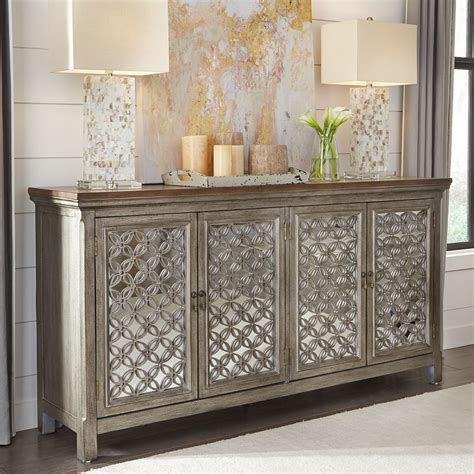 Sierra Madre 4 Door Accent Cabinet