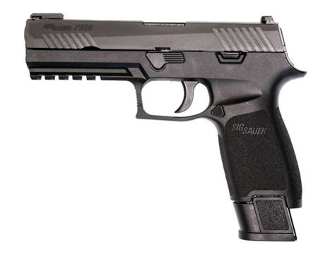 Gunkeyword Sig 320 P320 Tacops 20rd 320f-9-Bss-Tacops For Sale.