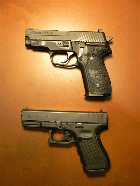 Glock-19 Sig M11 A1 Vs Glock 19.