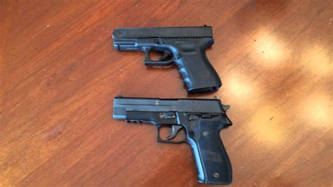Glock-19 Sig P226 Vs Glock 19.