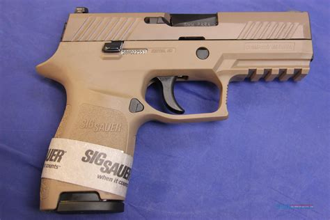 Sig-P320 Sig P320 9mm Compact Frame Fde.