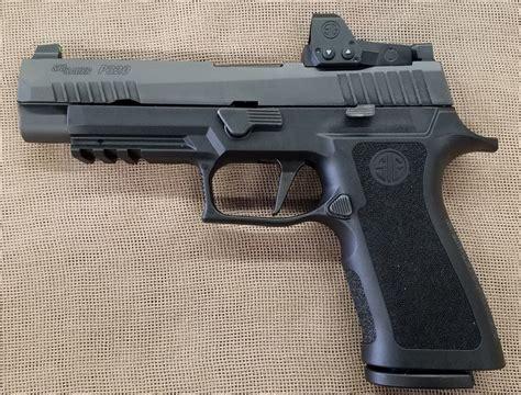 Sig-P320 Sig P320 9mm With Romeo Sight.