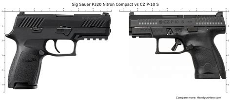 Sig-P320 Sig P320 Compact Compared To Cz P07.