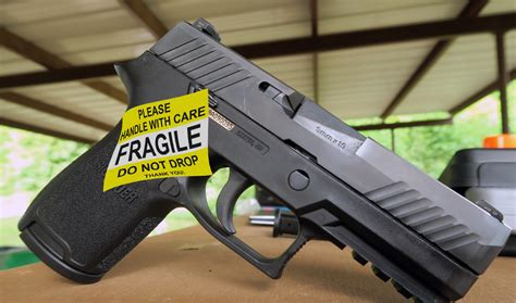 Sig-P320 Sig P320 Drop Safety Problems.