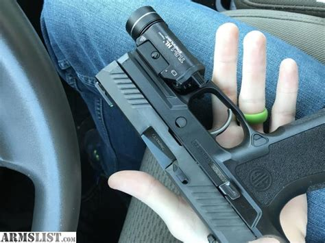 Sig-P320 Sig P320 Green Carry Grip Module For Sale.