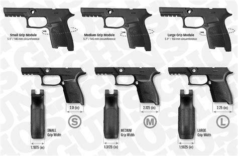Sig-P320 Sig P320 Grip Sizes.