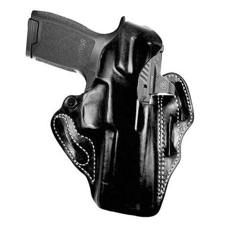 Gunkeyword Sig P320 Rx Full Size Thumbrelase Holster.
