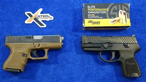 Sig-P320 Sig P320 Subcompact Vs Glock 26.