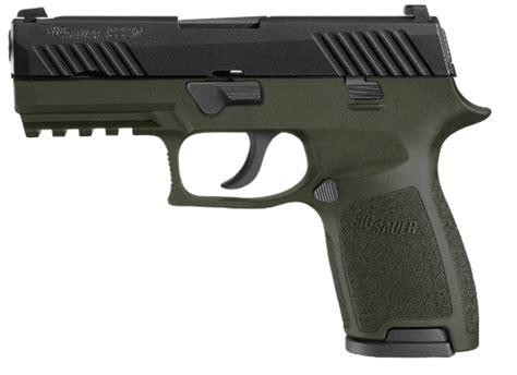 Sig-P320 Sig Sauer P320 Od Green 9mm.