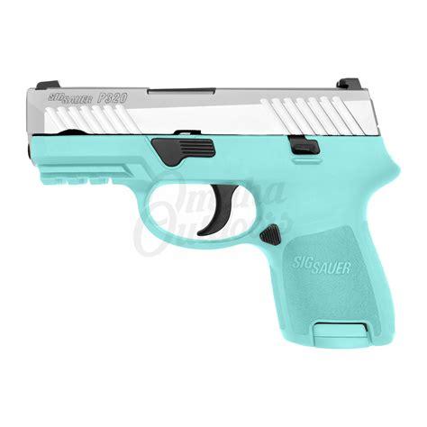 Sig-P320 Sig Sauer P320 Subcompact Tiffany Blue 9mm.