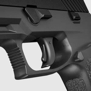 Sig-P320 Sig Sauer P320 Tabbed Safety Trigger.
