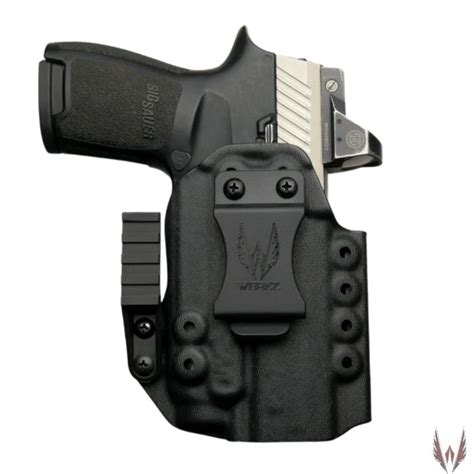 Sig-P320 Sig Sauer P320 Triple Retention Holster With Light Laser.