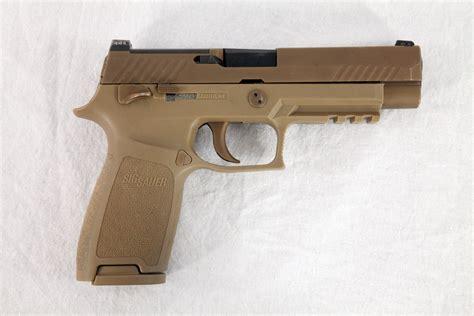 Gunkeyword Sig Sauer Submitted Their P320 Handgun.