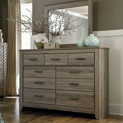 Signature Design By Ashley Zelen Grey Dresser