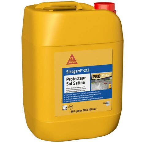 Sika Impermeabilisant Terrasse Sikagard Protection Sol  Prot Ger   Imperm Abiliser  Sika