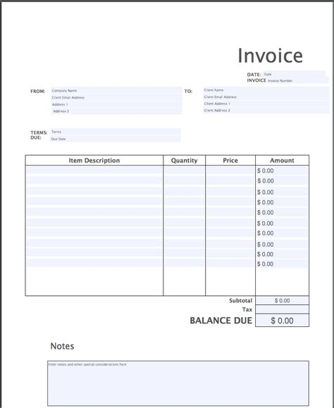 simple invoice alternative | design invoice template – firmsinja, Invoice examples