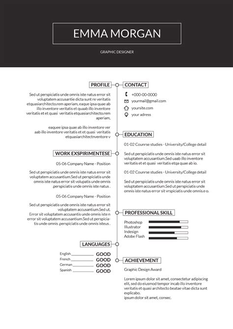 Simple sample resume in malaysia