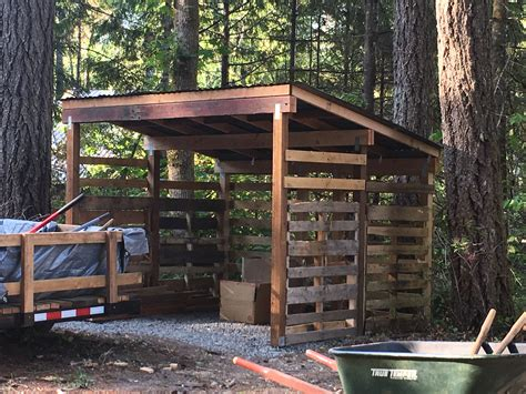 Simple Wood Shed