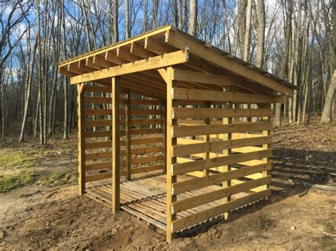 Simple Wood Shed Design