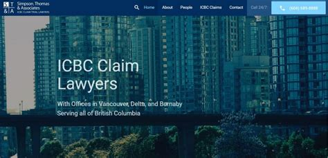 Contingency Lawyer Vancouver Bc Simpson Thomas Associates Icbc Claim Trial Lawyers