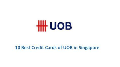 Singapore Credit Card Best Cash Rebate Best Uob Credit Cards In Singapore Updated October 2018