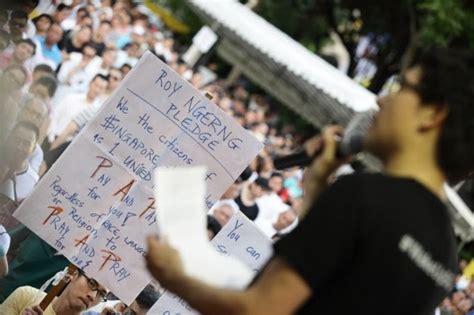 Court Dress Code Singapore Singapore Dissident