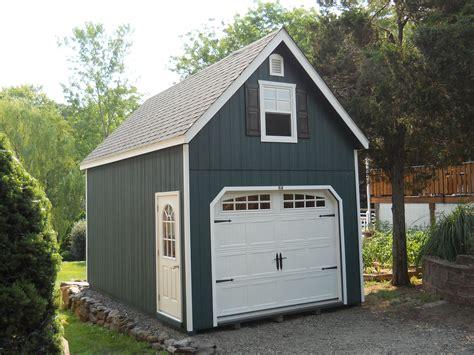 Single Garage With Loft