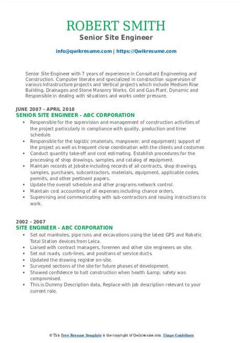 resume sample for civil site engineer site engineer resume sample three engineer resume - Civil Site Engineer Sample Resume