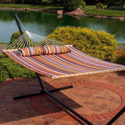 Sitton Quilted Double Tree Hammock