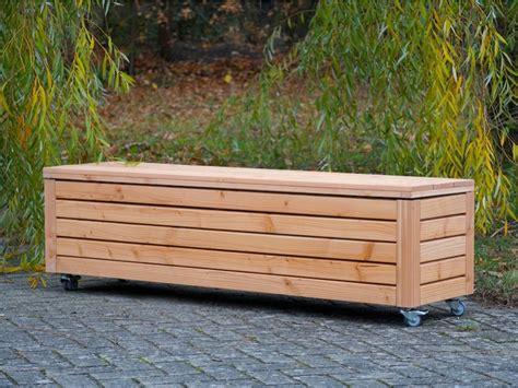Sitztruhe Holz