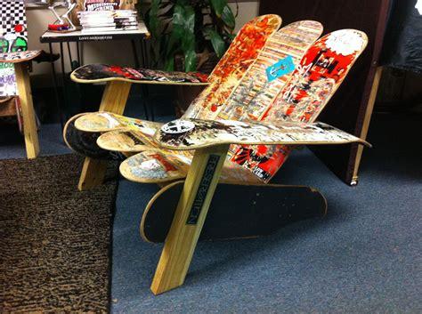 Skateboard Chair Diy