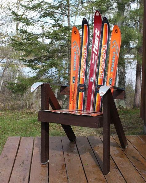 Ski Adirondack Chair Plans