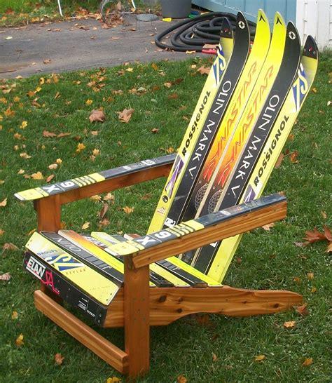 Ski Chair Plans