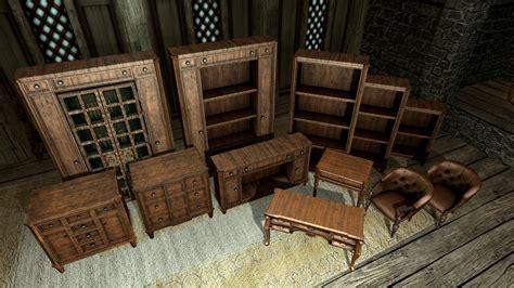 Skyrim How To Build Furniture