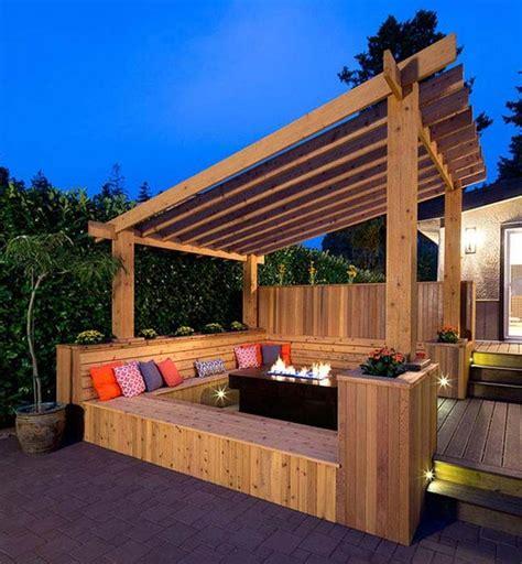 Slanted Pergola Roof