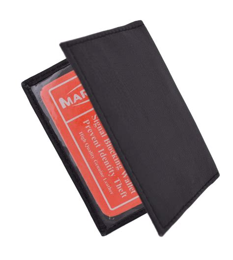 Ing Credit Card Lost Slim Thin Leather Credit Card Id Mini Wallet Holder Bifold
